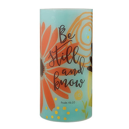 Be Still And Know Led Candle