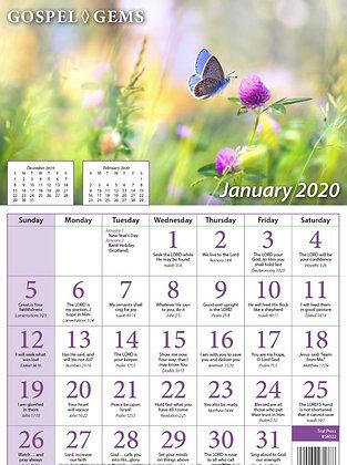 Gospel Gem Calendar 2020 Individuals
