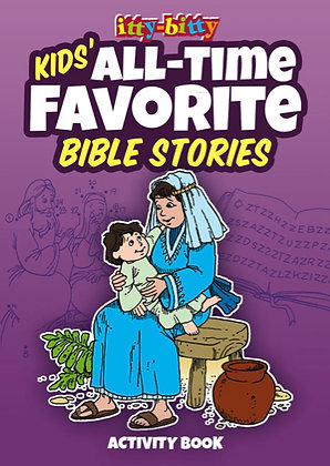 ITTY BITTY ACTIVITY BOOK - KIDS' ALL-TIME FAVORITE BIBLE STORIES