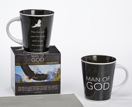Man Of God Renewed Mug Set ( Fathers day)