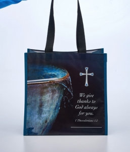 Overflowing With Thanks Tote Bag ( Mothers day )