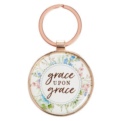 Grace upon Grace Keyring Tin