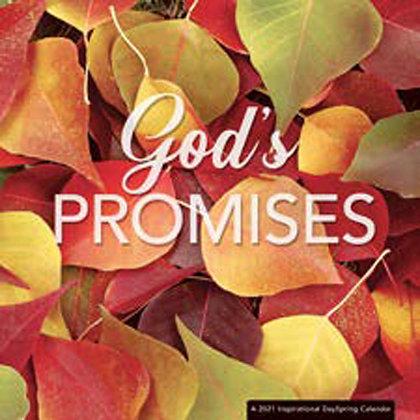God's Promises  2021 Wall Calendar