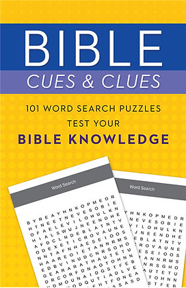 101 Word Search Puzzles Test Your Bible Knowledge Paperback