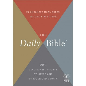 NLT The Daily Bible Hardback In Chronological Order - 365 Daily Readings