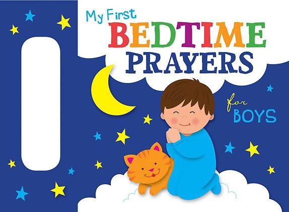 My First Bedtime Prayers for Boys Karen Mitzo Hilderbrand