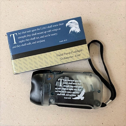 They That Wait Upon The Lord Pump Flashlight For Mens