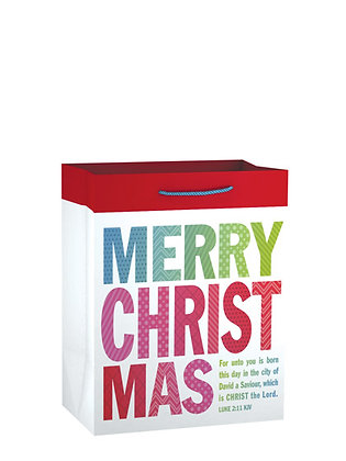 Merry Christmas Small Gift Bag