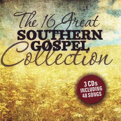 16 GREAT SOUTHERN GOSPEL COLLECTION CD VARIOUS