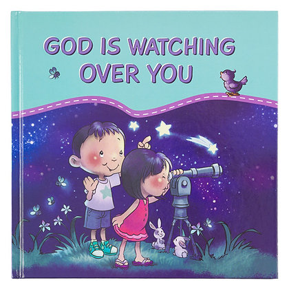 God Is Watching Over You By Christian Art Gift