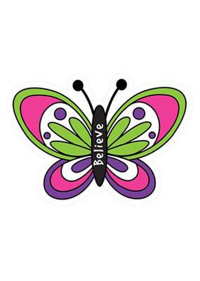 LDB Diecut Magnet: Butterfly