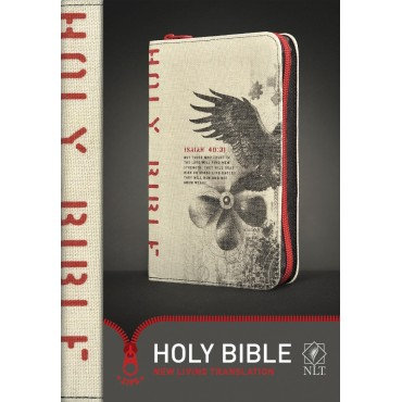 NLT Eagle Zip Bible New Living Translation by Tyndale