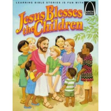 Jesus Blesses The Children Paperback by Gloria A. Truitt