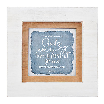 Your Heart Reflect God's Amazing Love Mother's Day Photo Frame