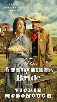 The Anonymous Bride PB  Vickie McDonough