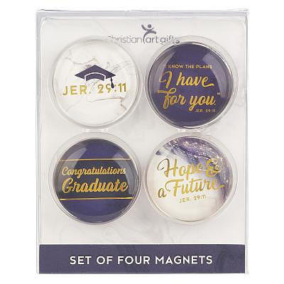 Graduation Hope & A Future Magnet Set - Jeremiah 29:11