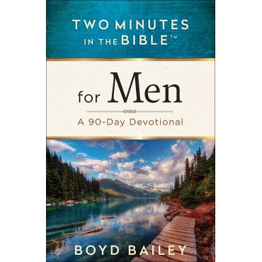 Two Minutes in the Bible for Men Paperback by Boyd Bailey
