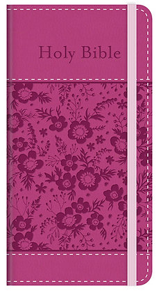 The KJV Compact Bible: Promise Edition [Pink]Imitation Leather