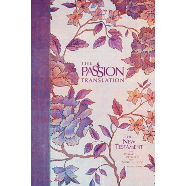 The Passion New Testament, Purple, Hardback, Footnotes, Study Notes, Commentary