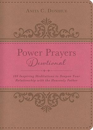 Power Prayers Dev. Imitation Leather  180 Inspiring Meditations to Deepen Your R
