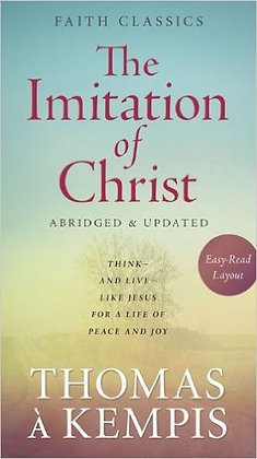 The Imitation Of Christ Paperback Thomas A Kempis