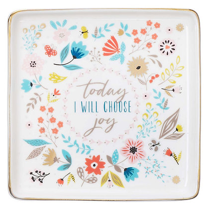 Today I Choose Joy Trinket Tray