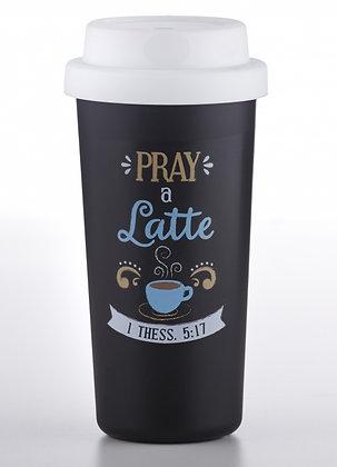 Pray A Latte Tumbler