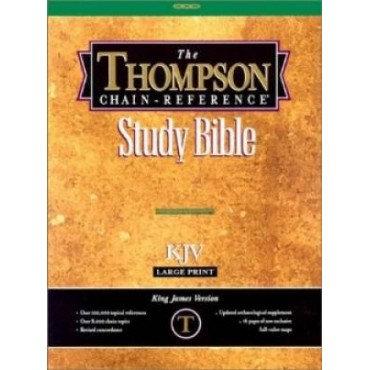 Thompson Chain Reference Bible -KJV Bonded Leader