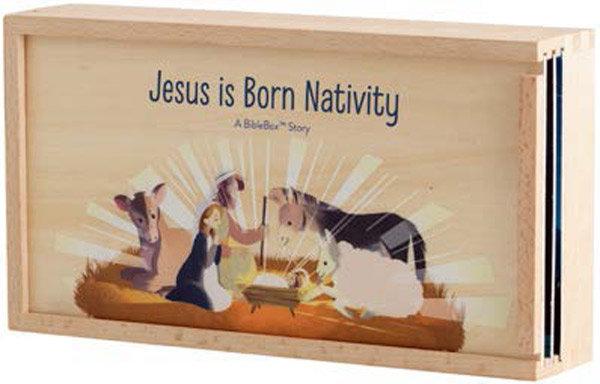 Jesus Is Born - Biblebox Nativity Set