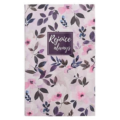 Rejoice Always Journal Flexcover