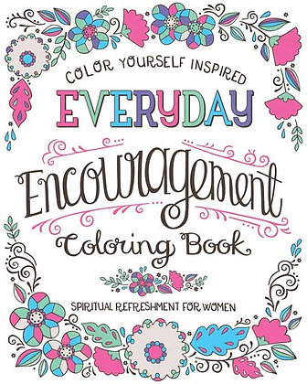 Colour Yourself Inspire Everyday Encouragement Coloring Book