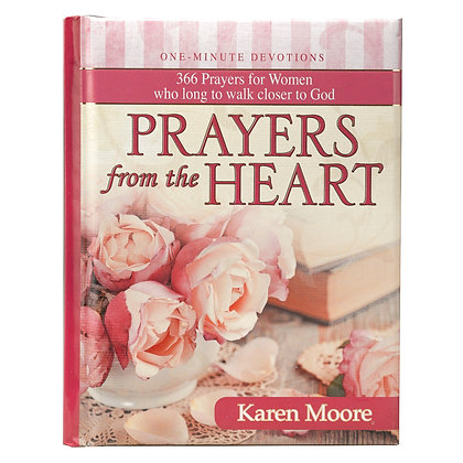 Prayers from the Heart for women