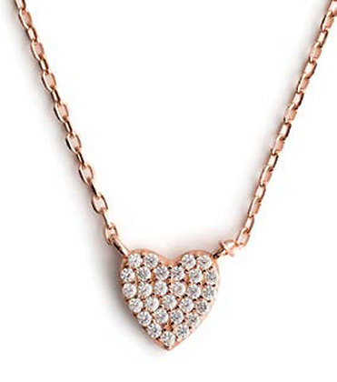Wildly Loved - Rose Gold Small Pendant Necklace