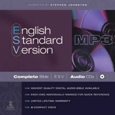 ESV Audio Bible: MP3 CD The complete Bible of 3 MP3 CDs