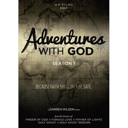 ADVENTURES WITH GOD DVD WILSON, DARREN