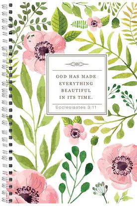 God Made Everything Beautiful Wiro Notebook