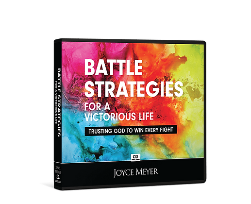 Battle Strategies for a Victorious Life by Joyce Meyer CD/MP3