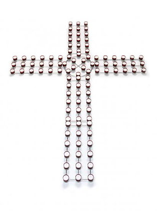 Special Offer 102 Light Silver Cross - 1 (Free 4HR Red Lights)