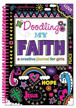 Doodling My Faith  A Creative Journal for Girls  by Kim Mitzo Thompson