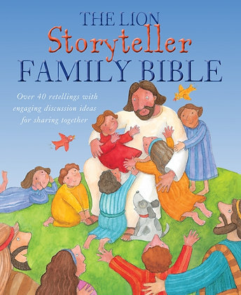 The Lion Storyteller Family Bible Bob Hartman,Krisztina Kallai Nagy