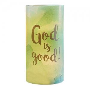 Led Candle God Is Good