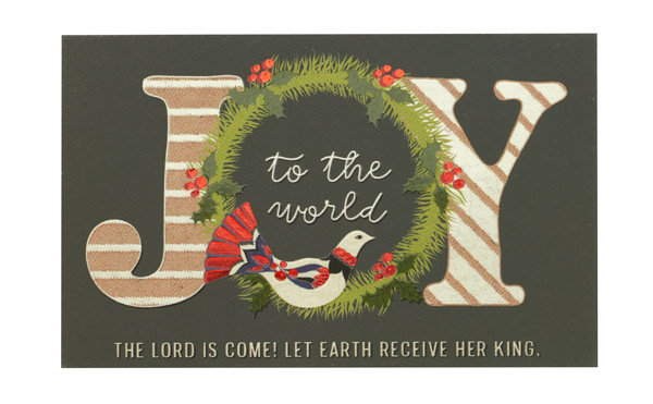 Joy To The world Evangelism Pass Around Cards