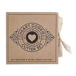 As I Have Loved You Heart Cardboard Cookie Cutter Set