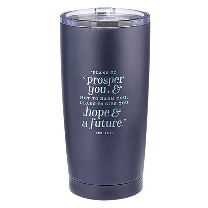 Hope & a Future Stainless Steel Mug - Jeremiah 29:11 EAN:1220000135604