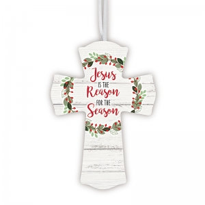 Jesus Is The Reason For The Season Hanging Cross