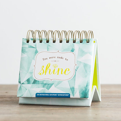 Papetural Day Brightener Calender: You Were Made To Shine