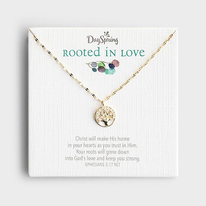 Rooted in Love - Gold Small Pendant Necklace