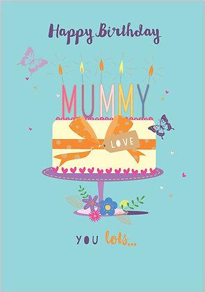 Mum's birthday card