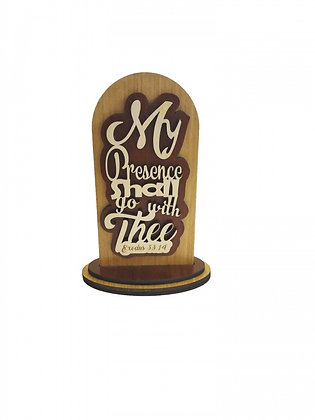 Table Top Plaque