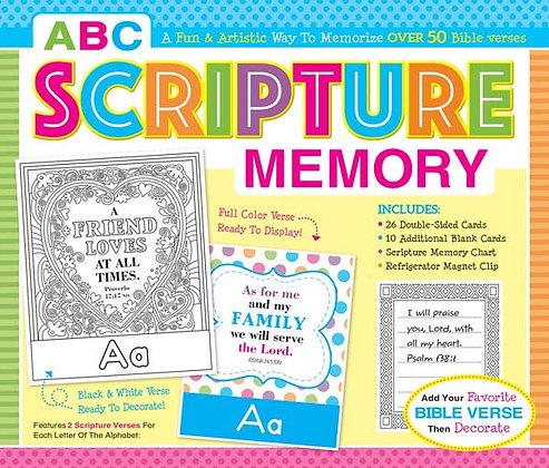 ABC Scripture Memory Boxed Set Kim Mitzo Thompson